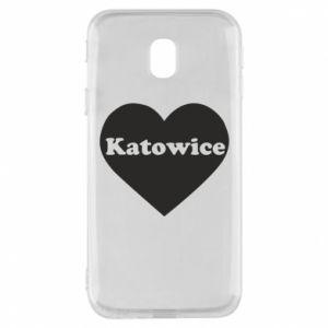 Phone case for Samsung J3 2017 Katowice in heart