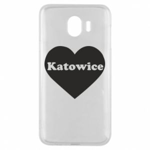Phone case for Samsung J4 Katowice in heart