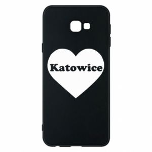 Phone case for Samsung J4 Plus 2018 Katowice in heart