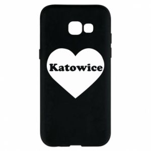 Phone case for Samsung A5 2017 Katowice in heart