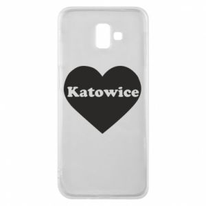 Phone case for Samsung J6 Plus 2018 Katowice in heart