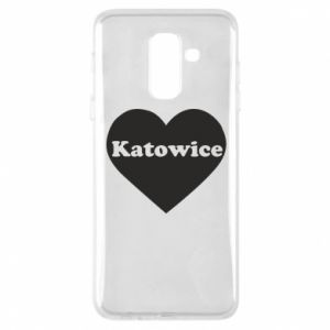 Phone case for Samsung A6+ 2018 Katowice in heart