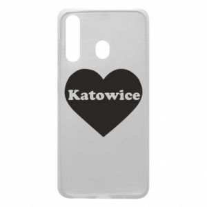 Phone case for Samsung A60 Katowice in heart