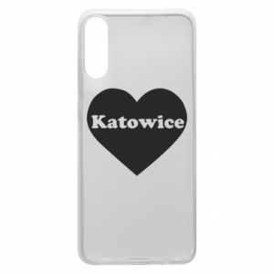 Phone case for Samsung A70 Katowice in heart