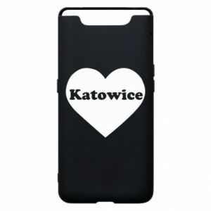 Phone case for Samsung A80 Katowice in heart