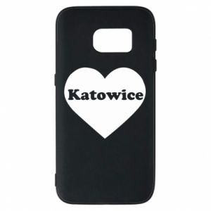 Phone case for Samsung S7 Katowice in heart