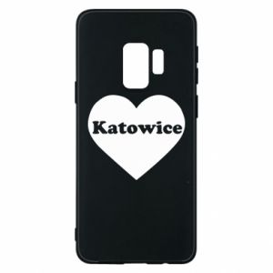 Phone case for Samsung S9 Katowice in heart
