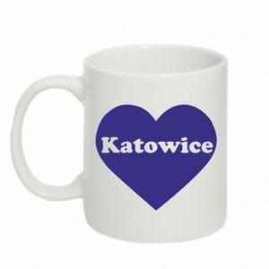 Kubek 330ml Katowice w sercu