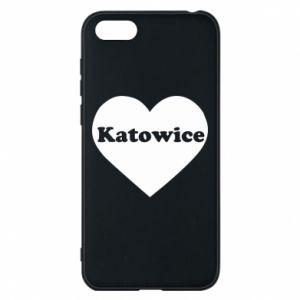 Phone case for Huawei Y5 2018 Katowice in heart