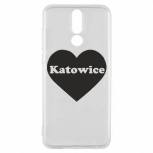 Phone case for Huawei Mate 10 Lite Katowice in heart