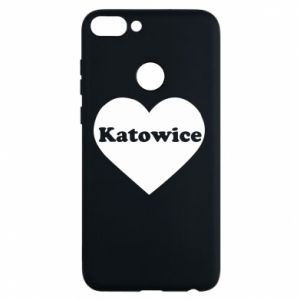 Phone case for Huawei P Smart Katowice in heart