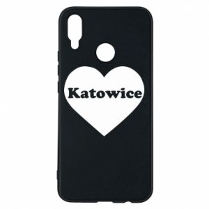 Phone case for Huawei P Smart Plus Katowice in heart