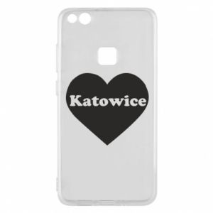 Phone case for Huawei P10 Lite Katowice in heart