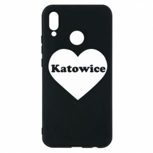 Phone case for Huawei P20 Lite Katowice in heart