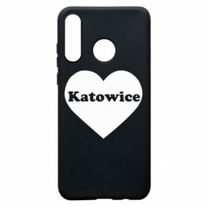 Phone case for Huawei P30 Lite Katowice in heart