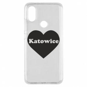 Phone case for Xiaomi Mi A2 Katowice in heart