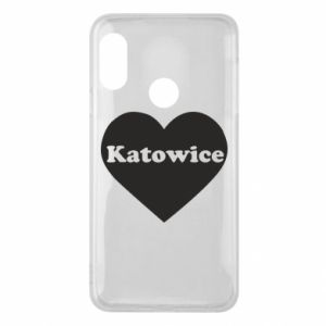 Phone case for Mi A2 Lite Katowice in heart