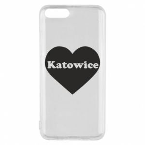 Phone case for Xiaomi Mi6 Katowice in heart