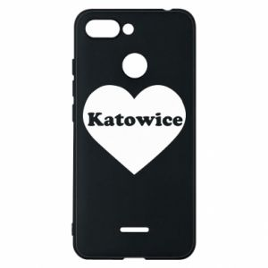 Phone case for Xiaomi Redmi 6 Katowice in heart