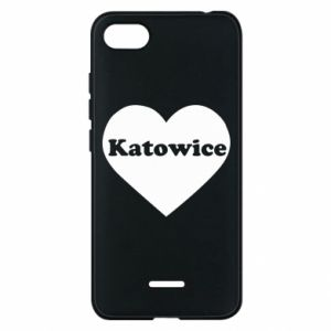 Phone case for Xiaomi Redmi 6A Katowice in heart