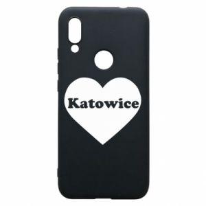 Phone case for Xiaomi Redmi 7 Katowice in heart