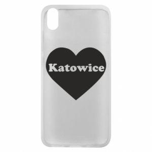 Phone case for Xiaomi Redmi 7A Katowice in heart