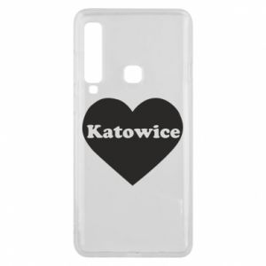 Phone case for Samsung A9 2018 Katowice in heart