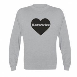 Kid's sweatshirt Katowice in heart