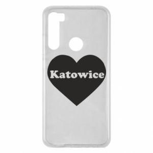Xiaomi Redmi Note 8 Case Katowice in heart