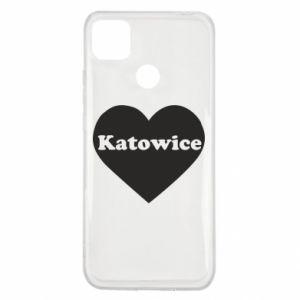 Xiaomi Redmi 9c Case Katowice in heart