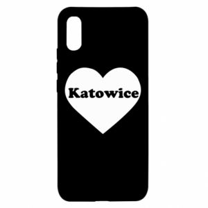Xiaomi Redmi 9a Case Katowice in heart