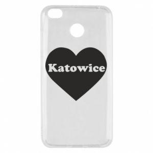 Xiaomi Redmi 4X Case Katowice in heart