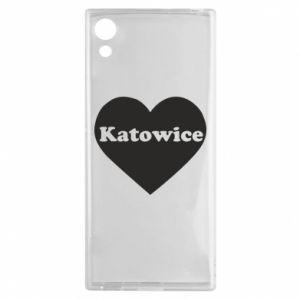 Sony Xperia XA1 Case Katowice in heart