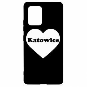 Samsung S10 Lite Case Katowice in heart