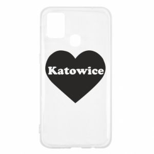 Samsung M31 Case Katowice in heart