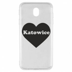 Samsung J7 2017 Case Katowice in heart