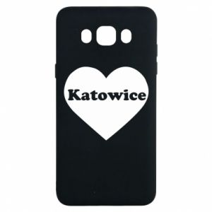 Samsung J7 2016 Case Katowice in heart