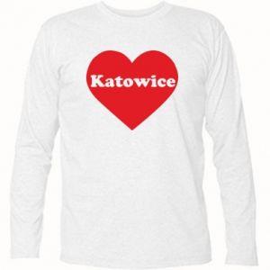 Long Sleeve T-shirt Katowice in heart