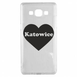 Samsung A5 2015 Case Katowice in heart