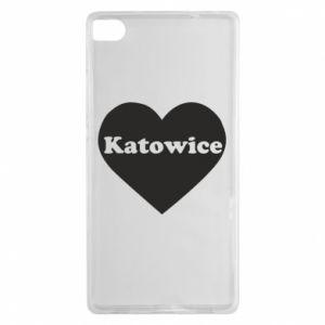 Huawei P8 Case Katowice in heart