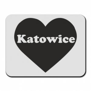 Mouse pad Katowice in heart