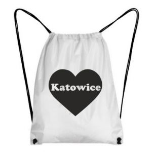 Backpack-bag Katowice in heart