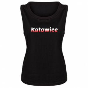 Damska koszulka Katowice - PrintSalon