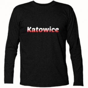 Koszulka z długim rękawem Katowice - PrintSalon