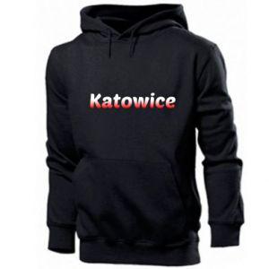 Męska bluza z kapturem Katowice - PrintSalon