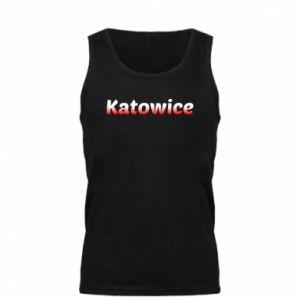 Męska koszulka Katowice - PrintSalon