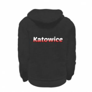 Kid's zipped hoodie % print% Katowice