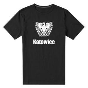Męska premium koszulka Katowice