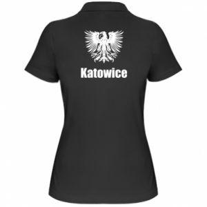 Damska koszulka polo Katowice