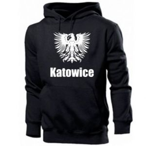 Męska bluza z kapturem Katowice